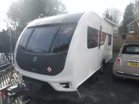 2016 Sterling Eccles 510, immaculate condition, 4 berth, with motor mover