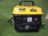 Wolf Power Model 950 Portable Generator (650 Watt)