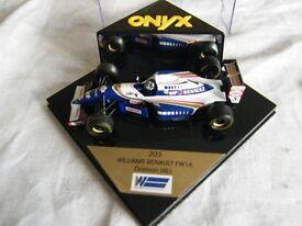 Onyx 1-43 Damon Hill Williams Renault