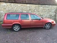Volvo V70 TDi 7 seater manual