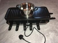 VonShef 12 Person Raclette Party Grill