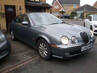 Jaguar S Type 3.0 S.E Auto **only 62000 miles** FSH. 52 PLATE