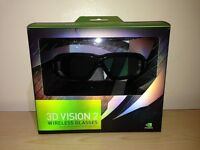 Nvidia 3D Vision 2 Wireless 3D Glasses Like New