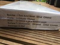 Solid Hardwood Oak Flooring BNIB
