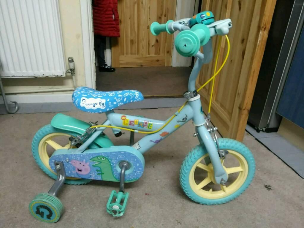 Peppa pig george bike