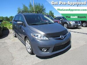 2008 Mazda MAZDA5 GS * FRESH TRADE * LEATHER * ROOF