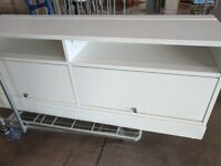 HAVSTA TV bench w plnth 160x62x47 white, IKEA Exeter AS-IS, Was £179 #BargainCorner