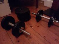 Weight Plates 4 x 2.5kg, 4 x 1.25 kg