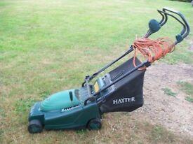 hayter envoy 36 electric lawnmower