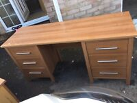 Dressing table and 2xbedside tables