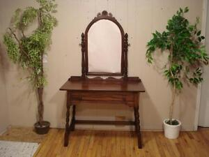 Lovely Antique Make-up Vanity  Made