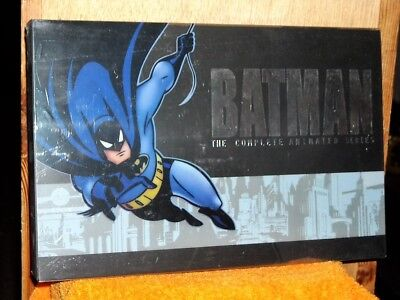 Batman The Complete Animated Series (DVD, 2008, 17-Disc Set) Gothams best (Best Animated Tv Shows)