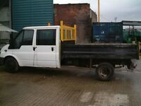 Crew Cab Tipper Low Mileage