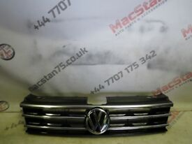 VW TIGUAN NEW MODEL FRONT GRILL 2016-ON PART NUMBER 5NA 853 653