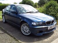 !!12 MONTH MOT!! 2002 BMW E46 330CI M-SPORT / MANUAL / SERVICE HISTORY / DRIVES PERFECT / MUST SEE