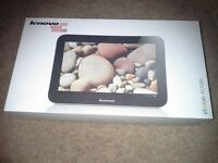 """Lenovo 9 """" 16 gb A2109 tablet.Expandable memory,boxed,charger, case, ex condition"""