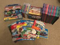 Thomas the tank bundle, 17 x DVD's and 44 books