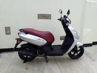 Peugeot 50cc Motor scooter 4 stroke Electric start twist and go 6 months old low mileage