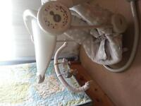 Mamas and papas baby starlight swing, excellent condition