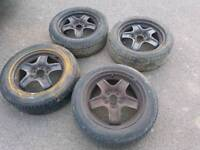 Vauxhall Astra mk5 wheels