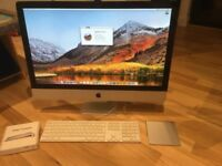 """Apple iMac 27"""" 3.4ghz i7 Quad Core CPU, 16GB ram, 1TB hard drive, Radeon 6970 1GB"""