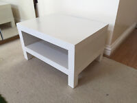 White Coffee table £20 - Needs to go quick!!!!