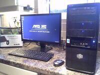 Six core Gaming PC setup