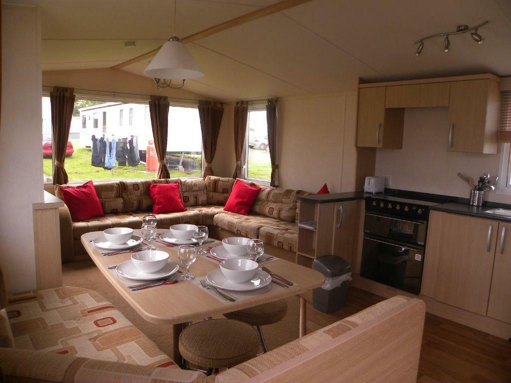 New Eyemouth Caravan For Hire With Great Views Scotland