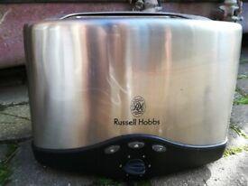 Russell Hobbs 2 Slice Stainless Steel Toaster
