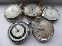 WANTED SMITHS INGERSOLL SERVICES POCKET WATCHES FOR COLLECTOR