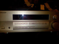 Pioneer D510 audio/video multi channel receiver in silver