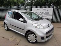 2009 Peugeot 107Urban 1L. LOW 52K MILEAGE CAR. CHEAP ON TAX (£30) AND FUEL MOT 06/17. PRICE REDUCED