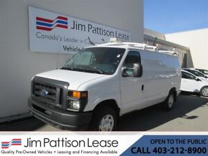 2012 Ford E-150 4.6L RWD Fully Up Fitted Cargo Van w/LOW KM's!