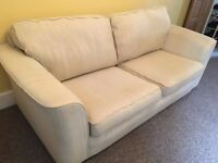 VERY COMFORTABLE 3 SEATER SOFA £100