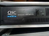 QSC RMX 2450 stereo power amplifier