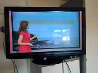 42 inch plasma freeview and free sat tv