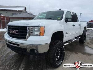 2009 GMC SIERRA 2500HD SLE LIFTED DURAMAX DIESEL