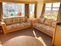 😀😀Stunning static caravan on stunning sea view pitch, Sandy Bay Northumberland open 12 months😀😀