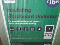 Insulating Fibreboard 5mm - brand new not openned