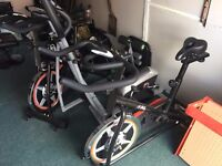 2 x Spinning Bikes and a Cross Trainer