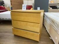 Ikea three drawer set