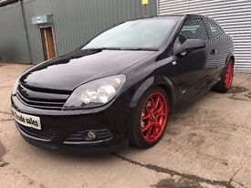 2008 VAUXHALL ASTRA 1.6T SRI 180 BHP ***FULL YEARS MOT*** similar to megane golf focus rs st vxr