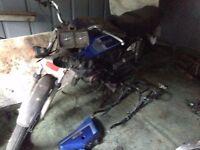 Honda H100S (project, spares, repairs)