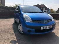 2006 Nissan Note 1.4 petrol service history, cheap tax and insurance!!!