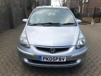 HONDA JAZZ 1.4 FULLY AUTOMATIC 2005, FULL SERVICE HISTORY, LOW MILEAGE, 1 YEAR M.O.T, LADY OWNER