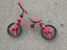 Toddler Smart Trike balance bike as good as new