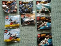 8 Brand New Lego polybags