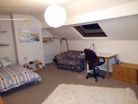 ATTIC room (Monday to Friday only) - with private Kitchen for one person (all inclusive price)