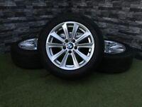 """17"""" Genuine BMW Style 236 5 6 Series Alloy Wheels Tyres Alloy F10 F11 F12 F13 E90 E91 E92 5x120"""