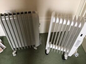 2xwhite electric heaters for sale. Can be sold separately